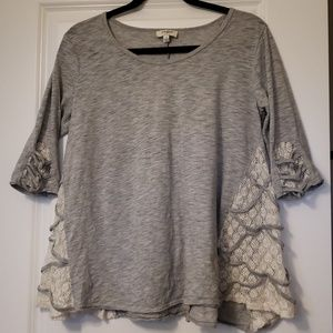 Umgee Lacy Tunic Top S